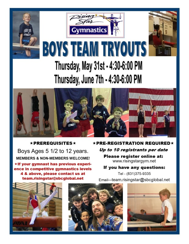 Boys Team Tryouts